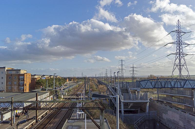 Rainham View from train station