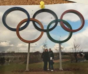 Olympic Rings Stratford