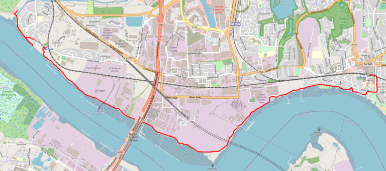 Rainham Nature Reserve to Grays – Riverside Walk