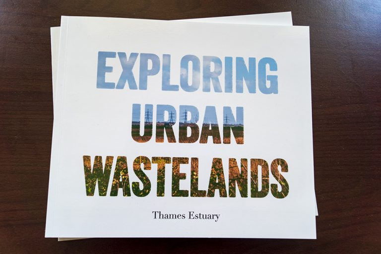 Exploring Urban Wastelands Book - Front Cover